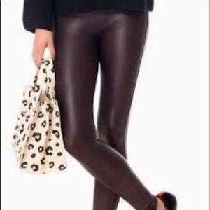 Spanx wine colored leggings size medium. Worn once